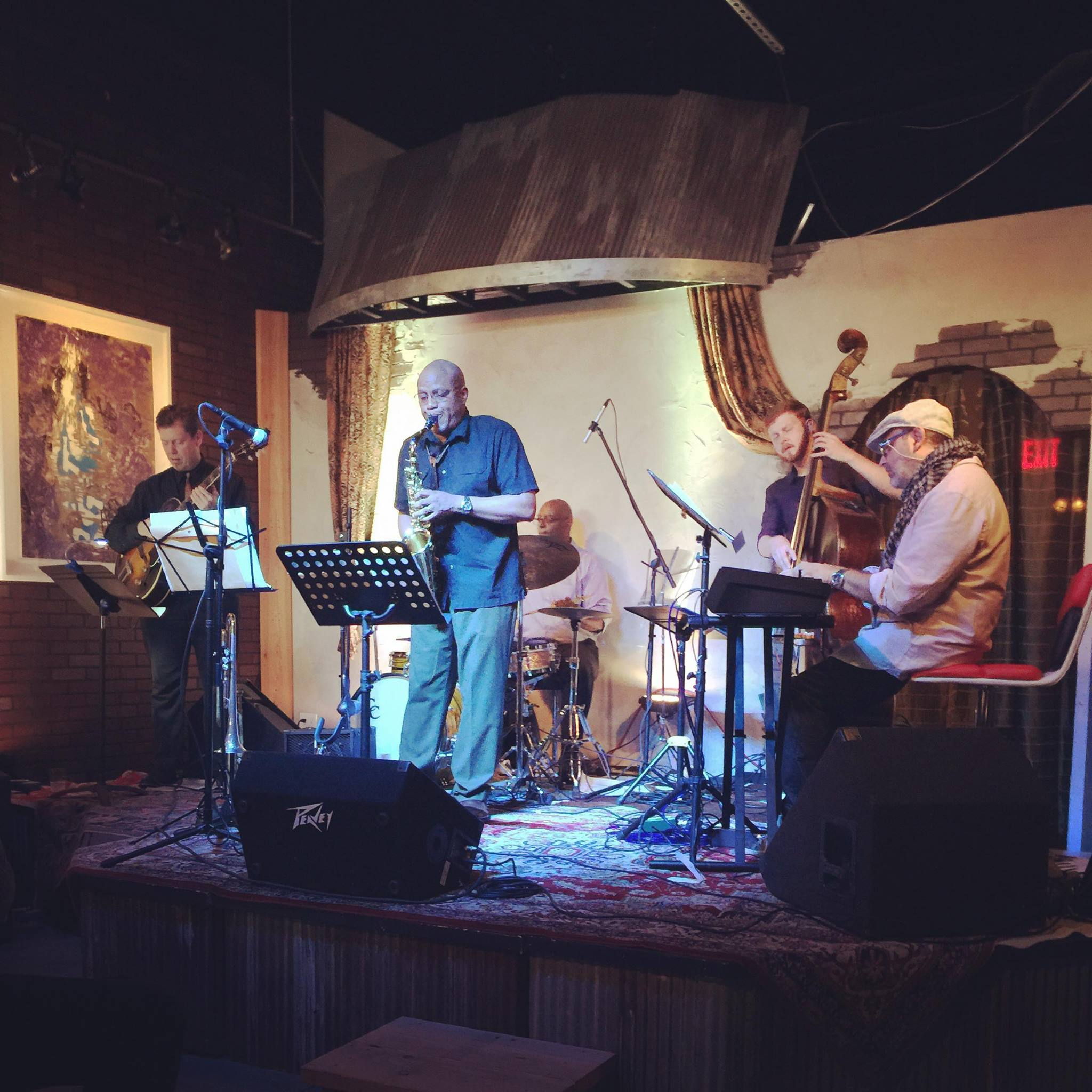 Dino Massa Kansas City Quintet performing at The Art Factor in Kansas City (2016)
