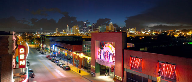 The 18th & Vine Jazz District in Kansas City