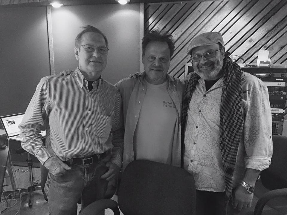 Craig Rettmer, Stanton Kessler and Dino Massa at C.R. Sound in Kansas City (Photo: Christopher Burnett)